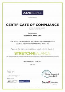 Certificate of compliance- Stretch4Balance