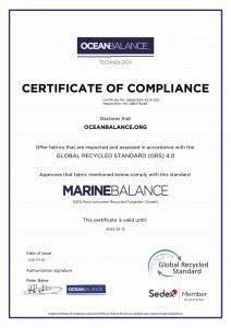Certificate of Compliance- MarineBalance