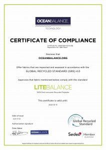Certificate of compliance- LiteBalance