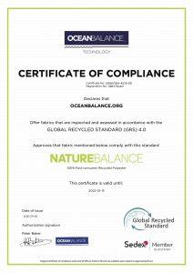 Certificate of compliance- NatureBalance